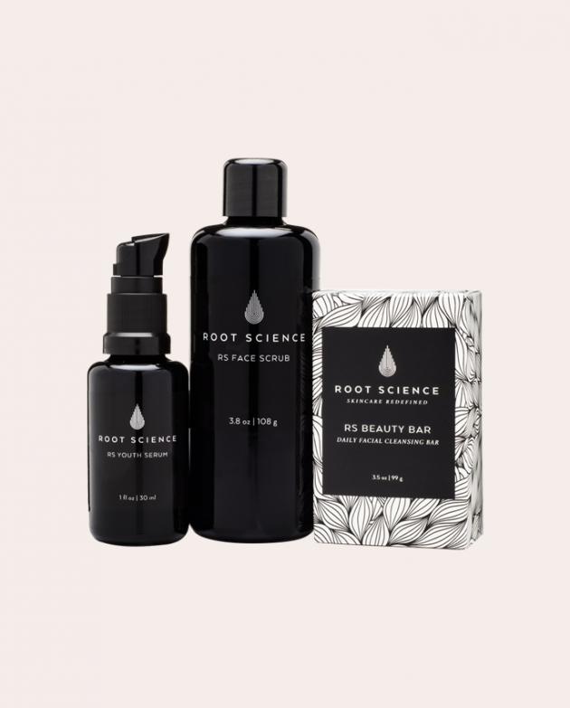 Root Science Organic Skin Care Routine Kit